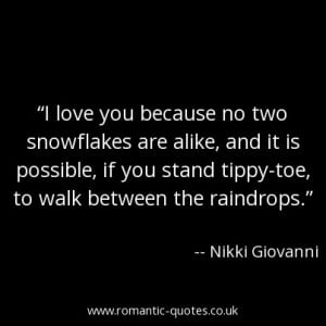 love-you-because-no-two-snowflakes-are-alike-and-it-is-possible-if-you ...
