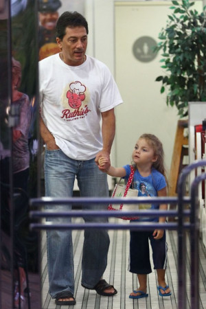What a cute pair! Happy Days alum Scott Baio and his adorable daughter ...