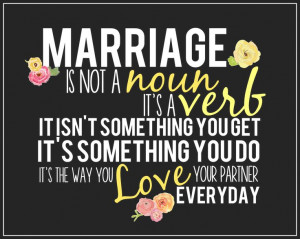 ... inspiring marital quote perfect for any married couple. AS A SPECIAL