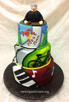 cake idea's for judges retirement   ISO of a reallyyyy good fondant ...
