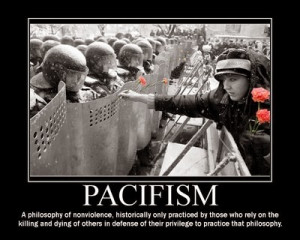 Christian Pacifism: A Pagan Philosophy