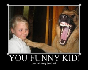 funny kid tells joke to dog - more funny ass pics