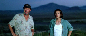 Photo of Randy Quaid from Independence Day (1996) with James Duval