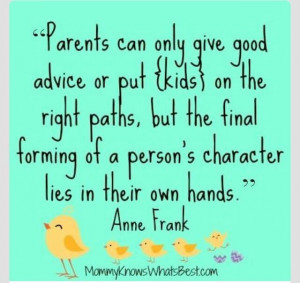 Persons character