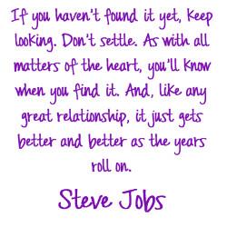 Quote Of The Week-Steve Jobs