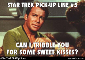 Kirk's lines even work on Princesses from Alderaan in a galaxy far ...