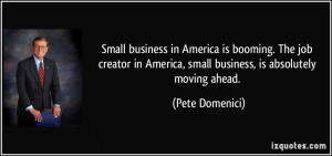 Small business in America is booming. The job creator in America ...