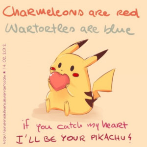 cute pokemon love poem