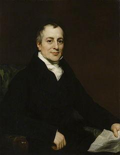 Portrait of David Ricardo by Thomas Phillips , circa 1821. This ...