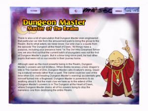 Dungeons & Dragons cartoon: Dungeon Master