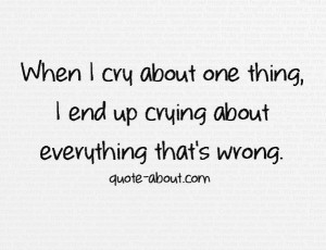 tumblr quotes about crying