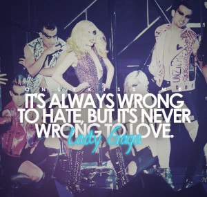Its always wrong to hate Love quote pictures
