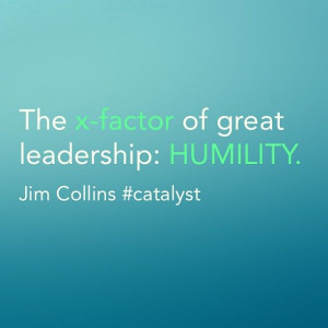 Leadership : humility #quote