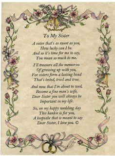 ... Sister Love | love you sister poems. i love you sister poems. poems