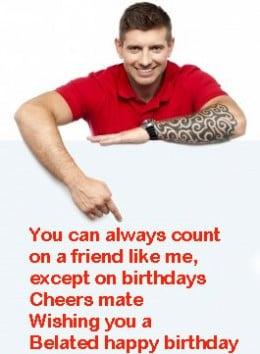 rude happy birthday card pin funny rude printable birthday cards cake ...