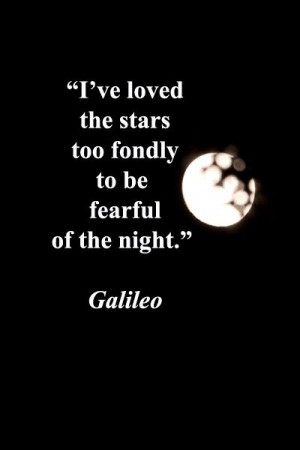 ve loved the stars too fondly to be fearful ... / Sun, Moon, and ...