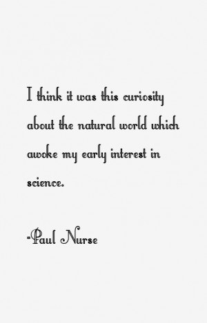 Paul Nurse Quotes & Sayings