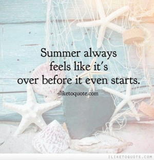 can't believe July is almost over! Summer always feels like it's over ...