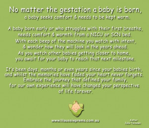 Premature Baby Is……..