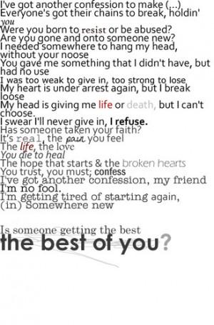 best music lyrics quotes