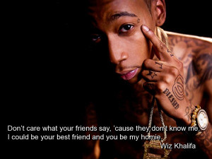 Don't Care What Your Friends Say ~ Friendship Quote