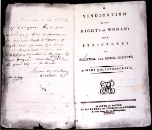Title page from Rights of Woman (American edition)