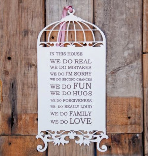Home / Event Decor / Decorative words / Wood Birdcage with Quotes