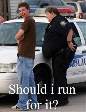 Funny Cop Quotes