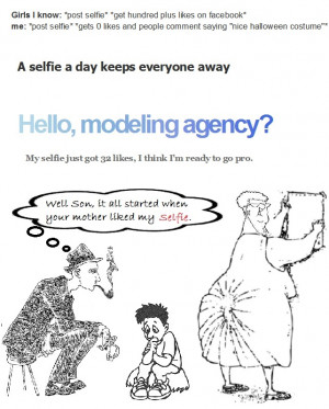 Let's check few Selfie quotes which are funny.