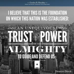 LDS Quote, Freedom, Patriotism, Religion, & God