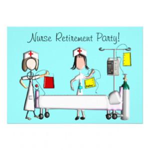 Nurse Retirement Invitation http://www.zazzle.com.au/nurse+retirement ...