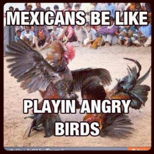 Mexicans Be Like Playin Angry Birds
