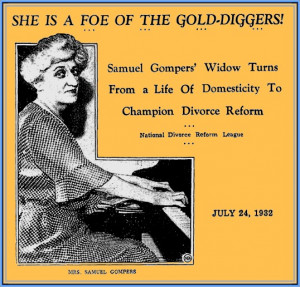 SamuelGompers (1850-1924) was an English-born American cigar maker who ...