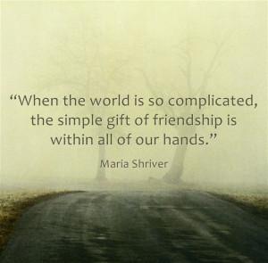 Maria Shriver inspirational quote for caregivers