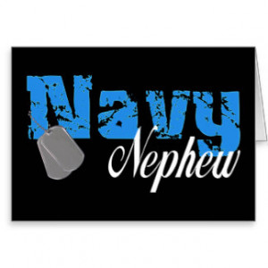 Aunt Hero Navy Greeting Cards