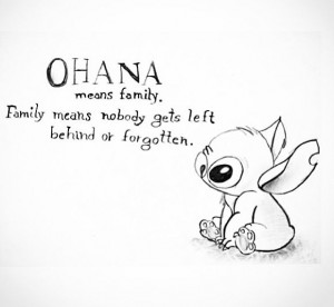 lilo and stitch quotes this is my family