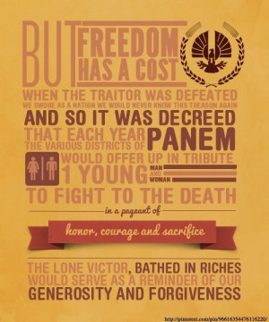 Hunger Games Quotes to fight to the death