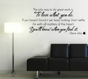 Quote on the wall in my new office