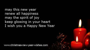 ... you my warmest sincere happy new year wish happiest new year messages