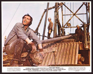 Details about FIVE EASY PIECES orig 1970 mini lobby card JACK ...