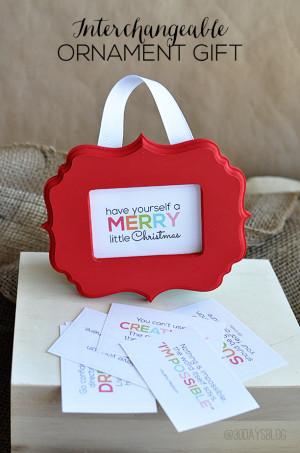 Printable Christmas Quotes + Tags