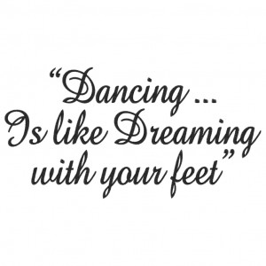 5846 Sayings : Real Men Dance 5x7