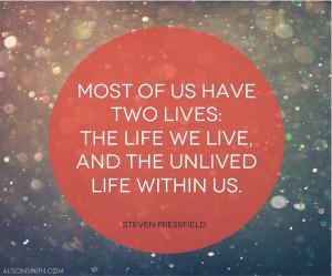 Steven Pressfield Quote