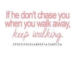 Keep walking..
