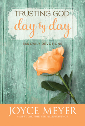 """... """"Trusting God Day by Day: 365 Daily Devotions"""" as Want to Read"""