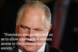 Rush Limbaugh Quotes Feminism