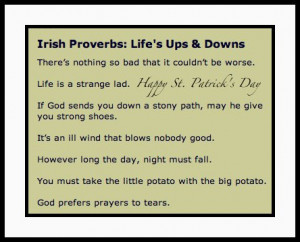 Irish Quotes And Sayings About