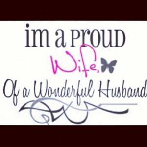 Love my husband...