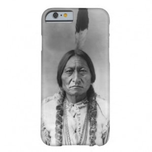 sitting bull historical photo iphone 6 case sioux chief sitting bull ...