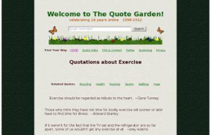 Home / List of quotation by Physical Activity